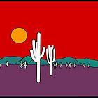 Desert Sunset by 2HivelysArt