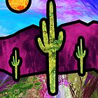 Desert Stained Glass by 2HivelysArt