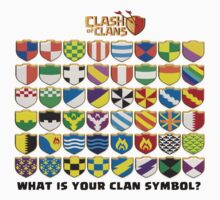 clash of clan clan symbols by Trish08