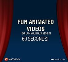 Fun Animated Videos – Explain Your Business in 60 Seconds! by moviixx
