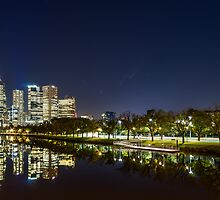 Melbourne city by mtmontgomery
