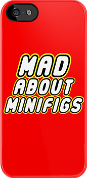 MAD ABOUT MINIFIGS by Customize My Minifig by ChilleeW