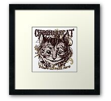 Cheshire Cat Carnivale Style Framed Print