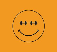 Smiley Dumbell by Vana Shipton