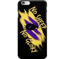 No Sheep, No Glory iPhone Case/Skin
