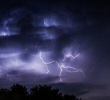 Distant Storm by Tyler Stierhoff
