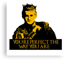 Motivational Joffrey Canvas Print