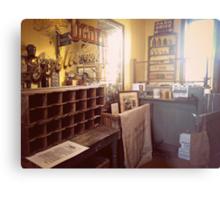 The Vintage Post Office Metal Print
