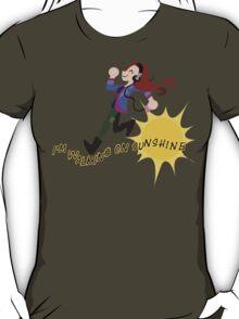 Charlie Bradbury - I'm walking on sunshine T-Shirt