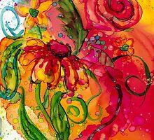 Fiesta Flowers by Francine Dufour Jones