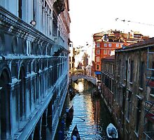 View from the Bridge of Sighs, Venice by ChaosGate