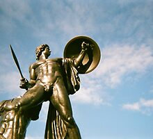 Achilles Bathed In Sun by Jessica Reilly
