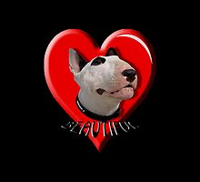 LOVE for my Bull Terrier by Matterotica
