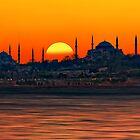 Bosphorus Evenings by Baki Karacay