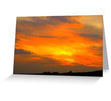 Inch Island Sunset Greeting Card
