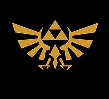 Triforce Pillow by kemec