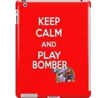Keep Calm And Play Bomber iPad Case/Skin