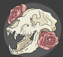 Bear & Roses by Hannah Loewe