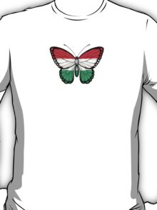 Hungarian Flag Butterfly T-Shirt