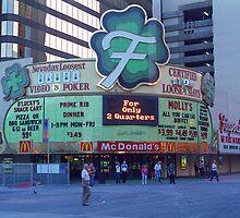 Las Vegas Downtown by Frank Romeo
