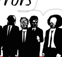 Reservoir Horrors Sticker