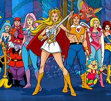 The Great Rebellion Filmation style by santalux