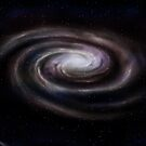 Spiral galaxy by Paul Fleet