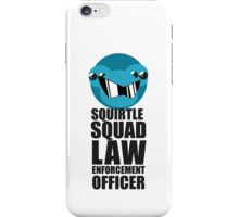 Squirtle Squad Law Enforcement Officer iPhone Case/Skin
