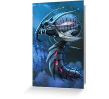 Underwater creature_second version Greeting Card