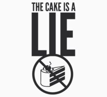 The Cake is a Lie by Cramer
