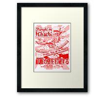 Shingeki no Hibachi (Attack on Hibachi) Framed Print