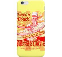 Shingeki no Hibachi (Attack on Hibachi) iPhone Case/Skin