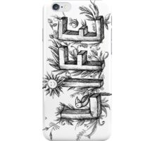 LIFE picture text iPhone Case/Skin