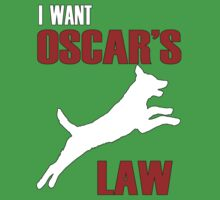 I WANT OSCAR'S LAW Kids Clothes
