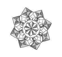 Mandala #053 by RedBookJournals