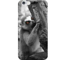 The Lemur and His Bark iPhone Case/Skin