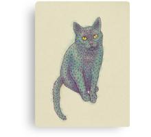 PolyCat Canvas Print