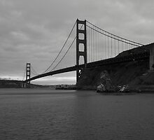 Golden Gate Bridge by Mel Surdin