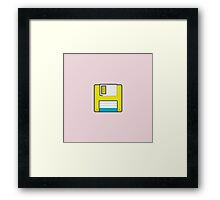 Floppy Framed Print