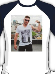 Julian Edelman wearing Rob Gronkowski T-Shirt