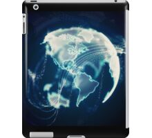 Planet Earth Particle Hologram iPad Case/Skin