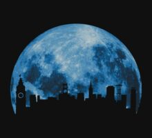 Blue Moon Over San Francisco by UrbanDeploymen
