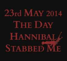 the day Hannibal stabbed me by FandomizedRose
