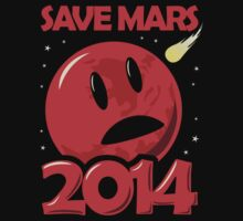 Save Mars 2014! Kids Clothes