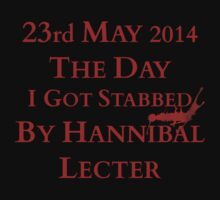 The day I got stabbed by Hannibal by FandomizedRose