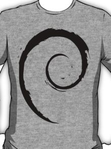 Debian Black T-Shirt