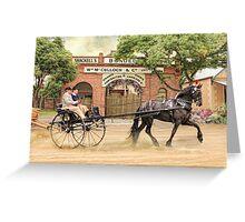 Friesian Folly Greeting Card