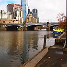 Princes Bridge Melbourne Vic Australia by Margaret Morgan (Watkins)