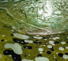 The magic water, green by novikovaicon