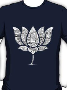 BJP LOTUS DOODLE T-Shirt